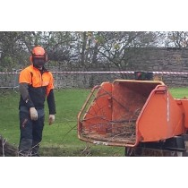 Woodchipper Training and Maintenance by Treevolution Scotland